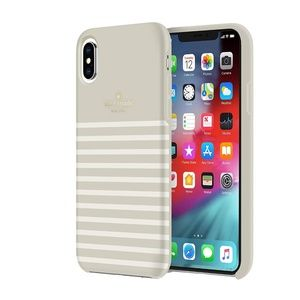 Kate Spade NY Beige Stripe Feeder IPhone X/XS Case